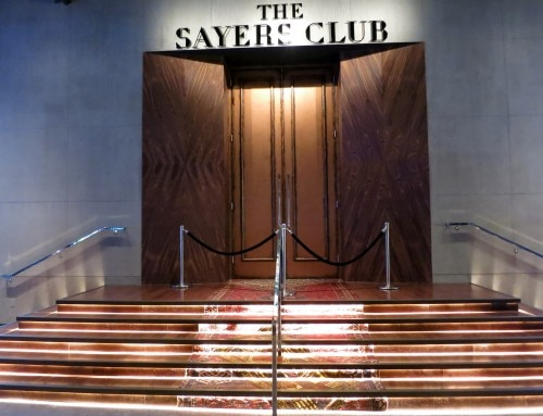 Entrance of The Sayers Club