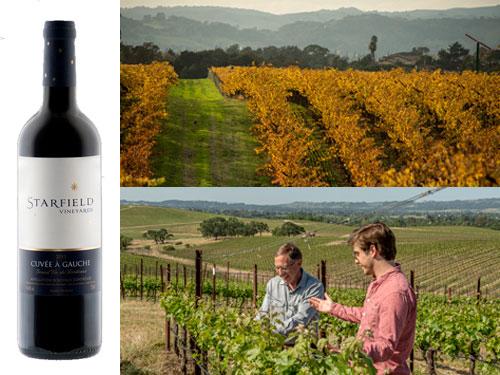 Starfield Vineyards 2012 Cuvée À Gauche Red Blend