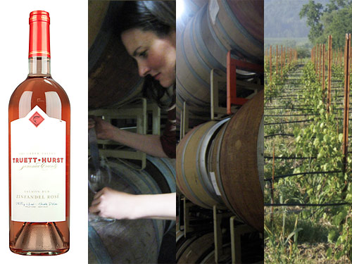 truett hurst 2013 zinfandel rose Truett Hurst 2013 Salmon Run Zinfandel Rosé   Wine of the Week