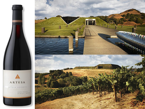 artesa 2012 estate reserve pinot noir Artesa Vineyards & Winery 2012 Estate Reserve Pinot Noir   Wine of the Week