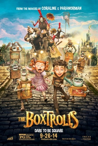boxtrolls poster 337x500 The Boxtrolls   Movie Review