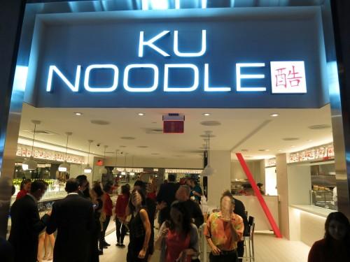 Ku Noodle restaurant