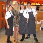 Chef Holly Lynn Jivin and her team