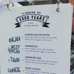 Ricardo Zarate menu