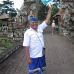 Follow the Guide in Bali