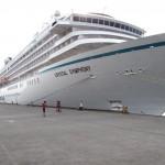 Crystal Cruises' Crystal Symphony ship