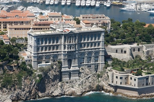 The Oceanographic Museum in Monte Carlo, Monaco