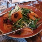 Chef Yousef Ghalaini's smoked salmon salad at FIG restaurant requires Chardonnay