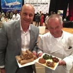 Alain Gayot with chef Wolfgang Puck