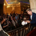 Adoring fans watch celebrity chef Gordon Ramsay