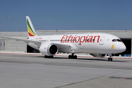 Ethiopian Airlines' Dreamliner
