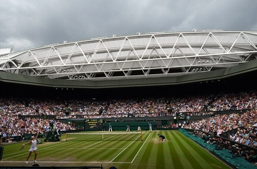 Ladies' Final during Wimbledon 2014
