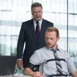 Alec Baldwin and Simon Pegg in Mission Impossible: Rogue Nation
