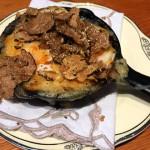 Potato Gratin with truffles and cream