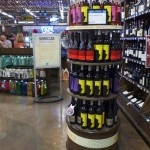 Ouled Thaleb wine display at Whole Foods Market in Venice