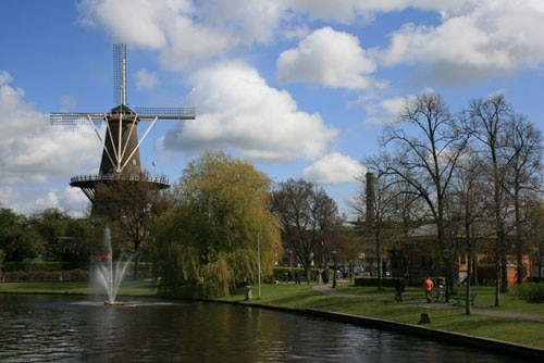 The Molen de Valk in Leiden, Netherlands