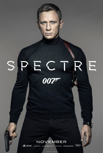 Daniel Craig returns as secret agent James Bond in Spectre