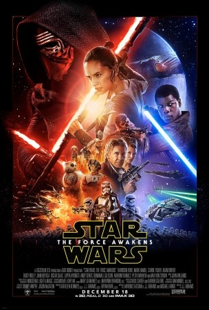 Star Wars: The Force Awakens is the seventh installation in George Lucas' beloved sci-fi series