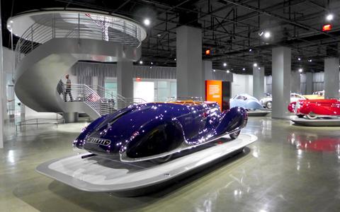 Petersen Museum Lobby