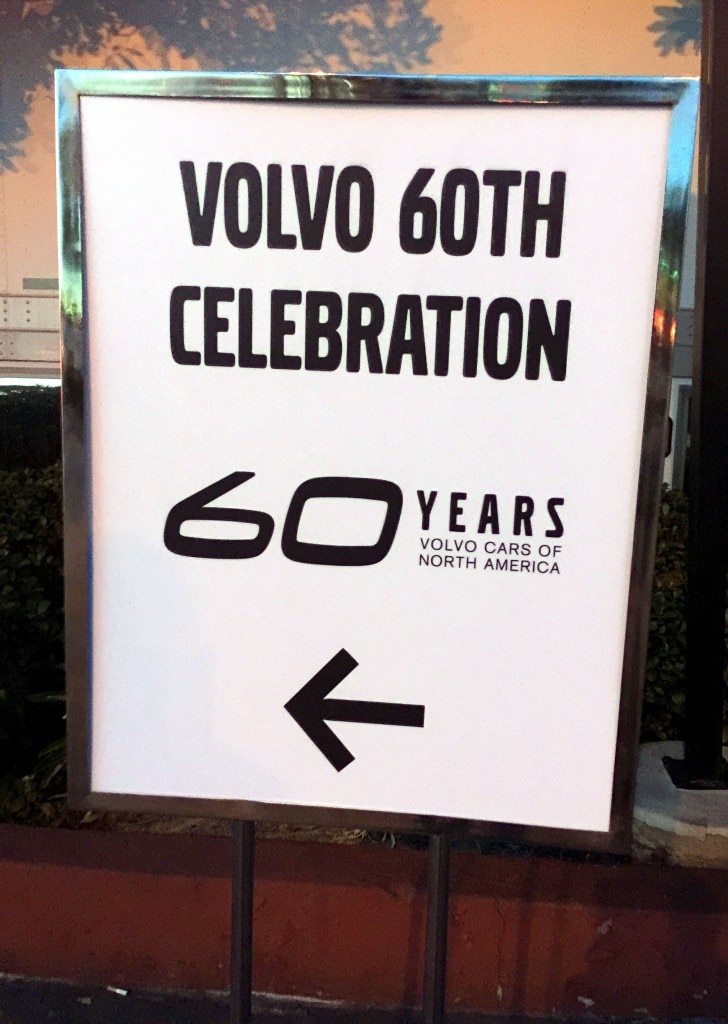 Welcome Sign at the Anniversary Event