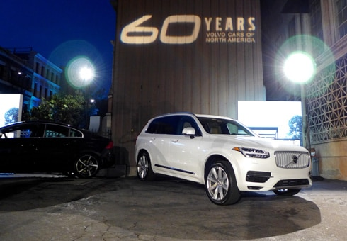 Volvo 60th Anniversary Celebration at Paramount Pictures Studios in Hollywood