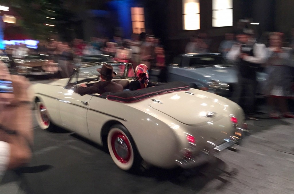 Vintage Volvo Sports Car