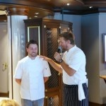 Chef Curtis Stone and chef Christian