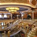Ruby Princess Main Lobby Staircase