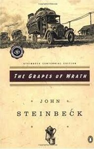 Grapes of Wrath by John Steinbeck tells a story that is famously centered along Route 66