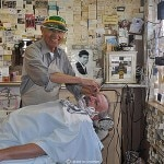 Angel Delgadillo, a local barber and Guardian of Route 66