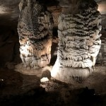 A view of the majestic caves found near Springfield, Missouri