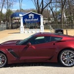 Bell's 2016 Chevrolet Corvette Z06 arrives in Graceland