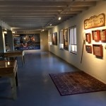 The Extensive Art Works gallery inside La Posada Hotel