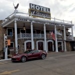 The historic El Rancho Hotel in Gallup, New Mexico