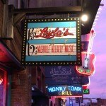 Bell does the honky tonk at Layla's Nashville Hillbilly Music Bar