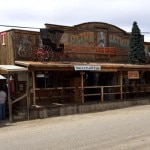 """A """"wild west"""" ghost town"""
