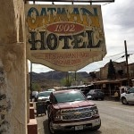 The Oatman Hotel was established in 1902