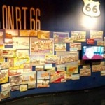 A panoramic view of the Route 66 Museum in Clinton, Oklahoma