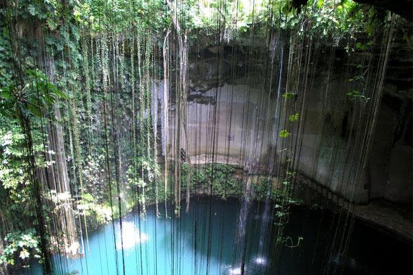Subterranean treasure: Cenote Ik Kil near Chichen Itza