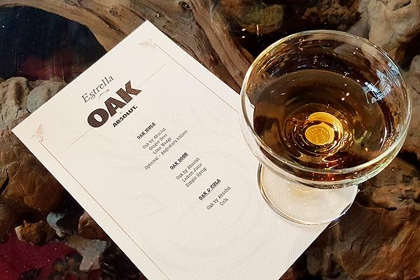 Oak by Absolut is indeed absolutely oak-y in taste