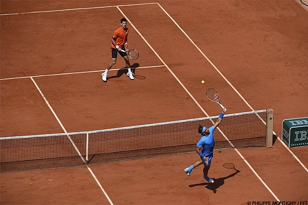 Watch top players compete during Roland-Garros