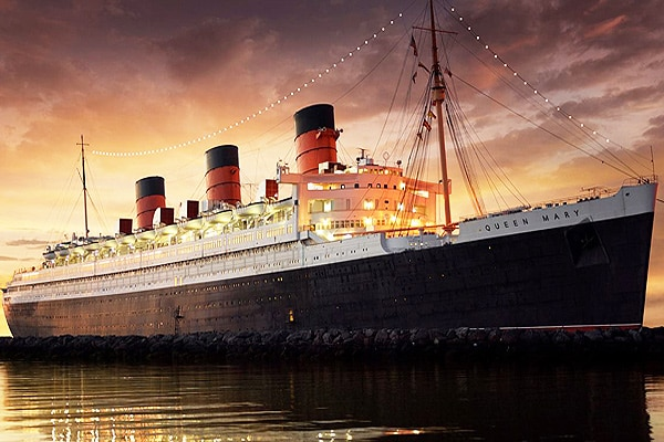 Queen Mary in Long Beach, California