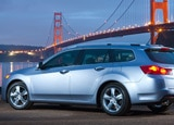 The Acura TSX Sport Wagon, one of our Top 10 Station Wagons