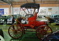 A side view of a 1904 Schacht