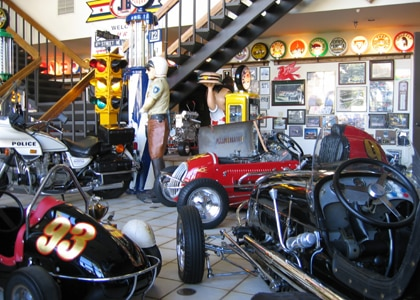 Justice Brothers Racing museum in Duarte, California