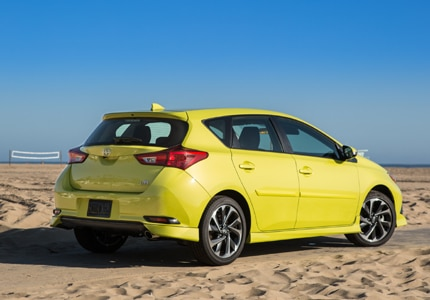The 2016 Scion iM, one of GAYOT's Top 10 Hatchbacks