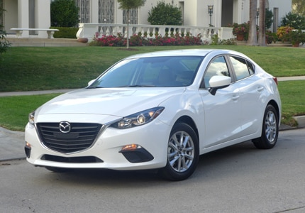 The Mazda 3 i 4-Door Touring, one of GAYOT's Top 10 City Cars