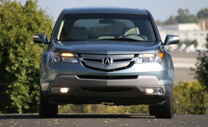 A front view of a 2007 Acura MDX