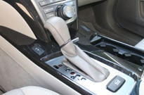 Acura MDX shifter is ergonomically placed