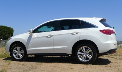A side view of the 2013 Acura RDX AWD Tech